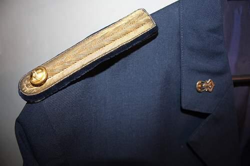 portuguese airbone coronel tunic and portuguese military academy graduet tunic