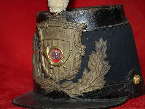 My rather scarce original AMERICAN CIVIL WAR MARINES Shako !!!