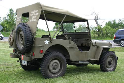 Click image for larger version.  Name:My Jeep at The Georgina Military Museum 2009.jpg Views:101 Size:230.3 KB ID:527883