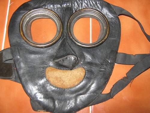 Flamethrower mask