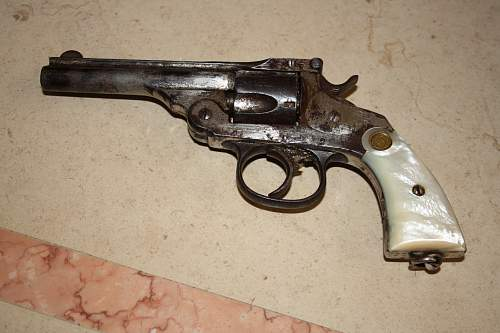 spanish civil war revolver very rare