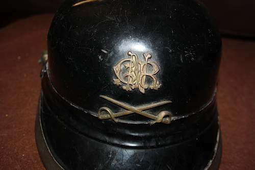 portuguese g.n.r helmet very rare the company it was called os cossacos do tejo