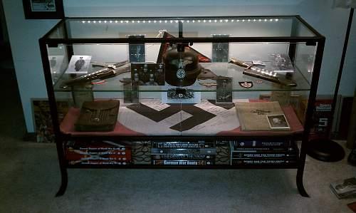 My New Ikea Display Case lots of pics!!