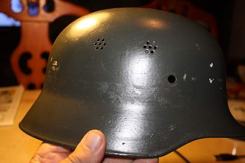 imcomplete helmet