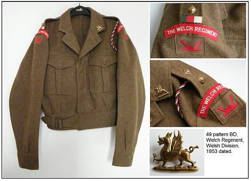 Click image for larger version.  Name:Welch regiment Welsh division BD montage m.jpg Views:54 Size:224.7 KB ID:549175