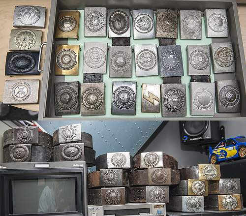 My new belt buckle collection...
