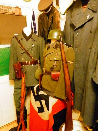 Deans' WWII collection