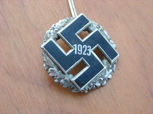 1923 Gau Commemorative Badge