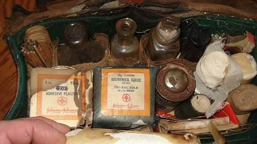 Complete Boer War Medical Kits
