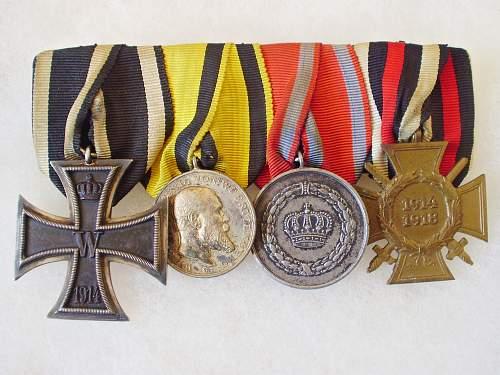 German Medal Bars