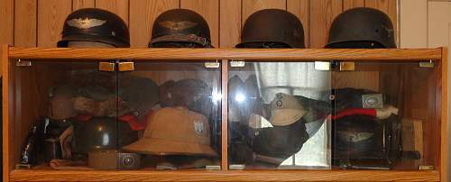 Small Wall Of Helmets