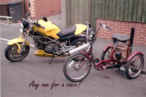 Click image for larger version.  Name:Trike and duc.jpg Views:95 Size:226.9 KB ID:58435