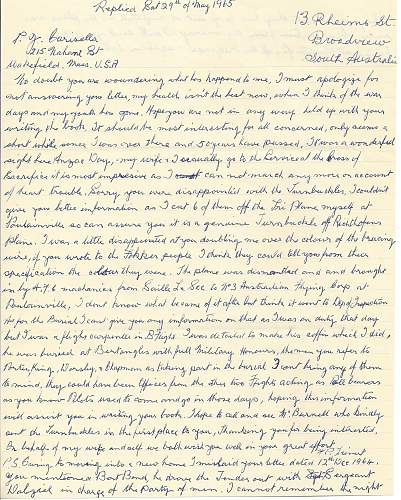 Click image for larger version.  Name:Who Killed the Red Baron - Letter Obverse.jpg Views:46 Size:316.3 KB ID:585719
