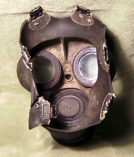Gas mask......Danny?