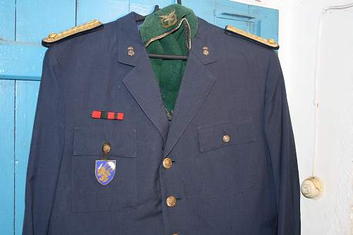 part of my collection from portuguese army and portuguese fascist younth