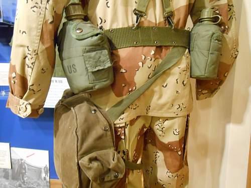 "US ""Operation Desert Storm"" display."