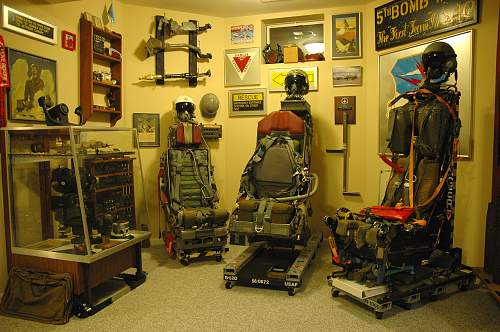 Ejection Seat and Strategic Air Command Collection
