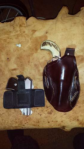 Click image for larger version.  Name:COP and Vaquero holstered.jpg Views:1040 Size:91.7 KB ID:614063