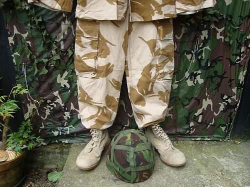 British Operation Granby Display