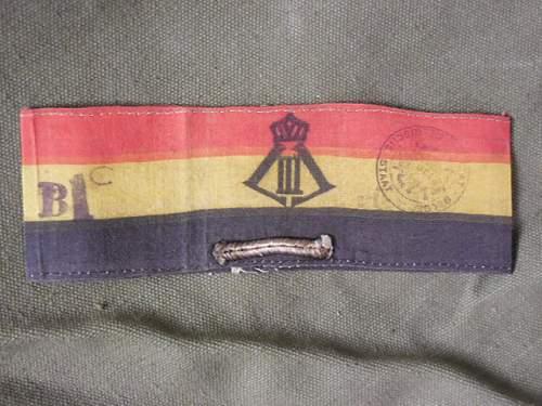 Belgian resistant'armban