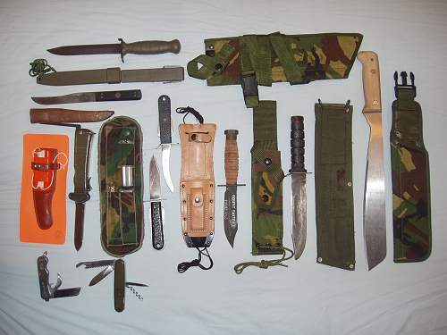 Hi All - My Holster & 'Sharps' Collection