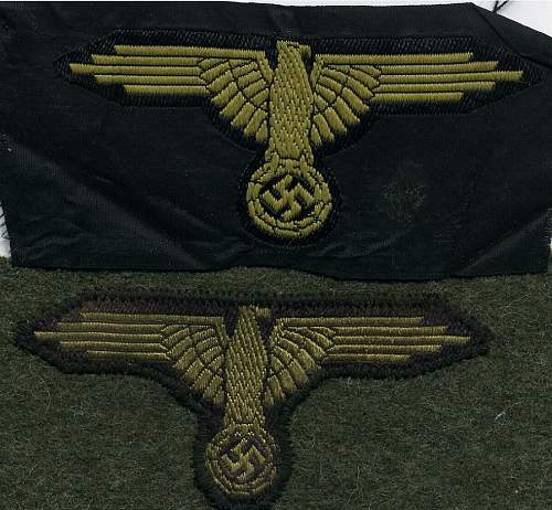 Small  SS insigna collection
