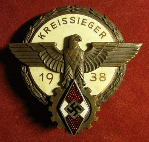 Click image for larger version.  Name:249 Kreissiger Badge - Brehmer.JPG Views:31 Size:194.0 KB ID:635333