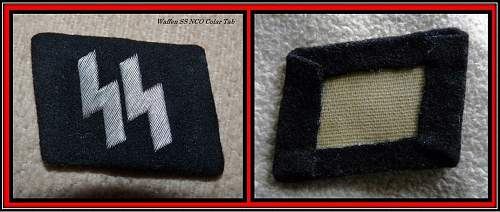 Click image for larger version.  Name:no 23xx Waffen SS Colar Tab.jpg Views:59 Size:180.6 KB ID:641414