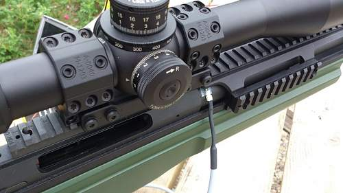 Click image for larger version.  Name:Sensor attached to rifle chamber.jpg Views:15 Size:96.4 KB ID:650281