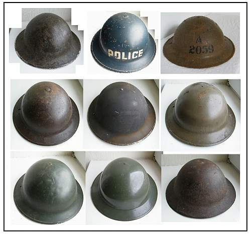 Click image for larger version.  Name:Tommy helmet collection march 2014.jpg Views:53 Size:210.9 KB ID:666106