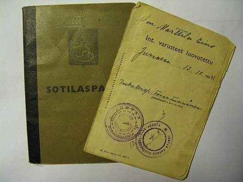 Small collection of Finnish war history