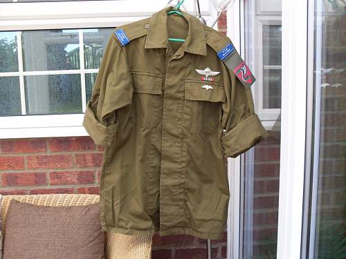 IDF Paratroopers shirt!