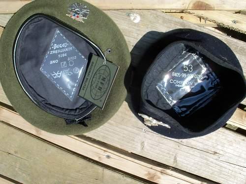 my humble beret grouping