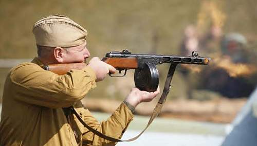 Click image for larger version.  Name:PPsh41 Ft Nelson.jpg Views:1233 Size:55.5 KB ID:70021