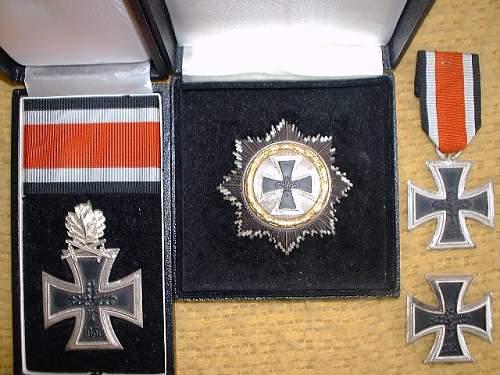 My Iron Crosses