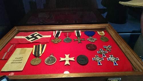Updated Third Reich display.