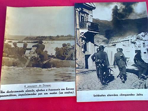 some press photos send to portugal to the signal magazine portuguese version