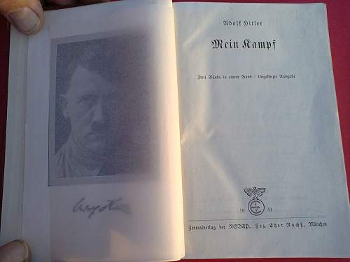 mein kampft party edition and some photos