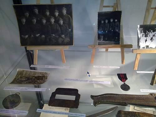 My winter war exhibition at a local school