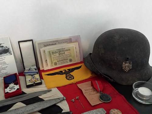 My mixed collection, WW1/WW2 :)