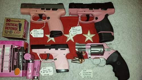 Click image for larger version.  Name:Pink guns.jpg Views:104 Size:229.3 KB ID:707805