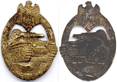 Click image for larger version.  Name:Tank badge  bronze no hinge -pin.jpg Views:11 Size:195.8 KB ID:708466
