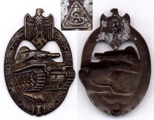 Click image for larger version.  Name:Tank badge bronze AS.jpg Views:4 Size:98.8 KB ID:708468