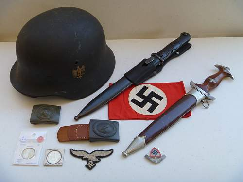 My small German and Australian WW2 collections