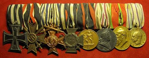 Click image for larger version.  Name:181 8pce Bavarian medal bar.JPG Views:653 Size:118.8 KB ID:717606