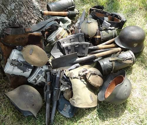 German Equipment Normandy 1944