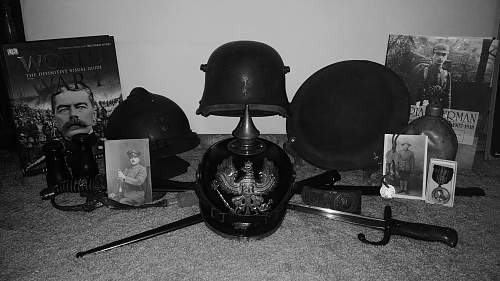 WW1 Anniversary Display
