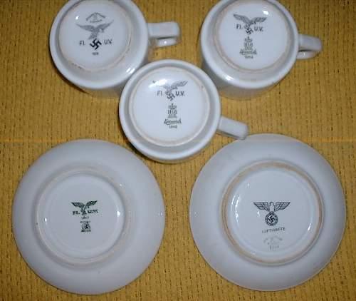Heer porcelain plate