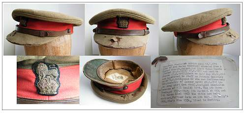 Click image for larger version.  Name:Baron Tredegar's Staff officers cap from WWI montage medium.jpg Views:59 Size:223.4 KB ID:733192