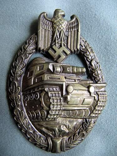 My Panzer Badges